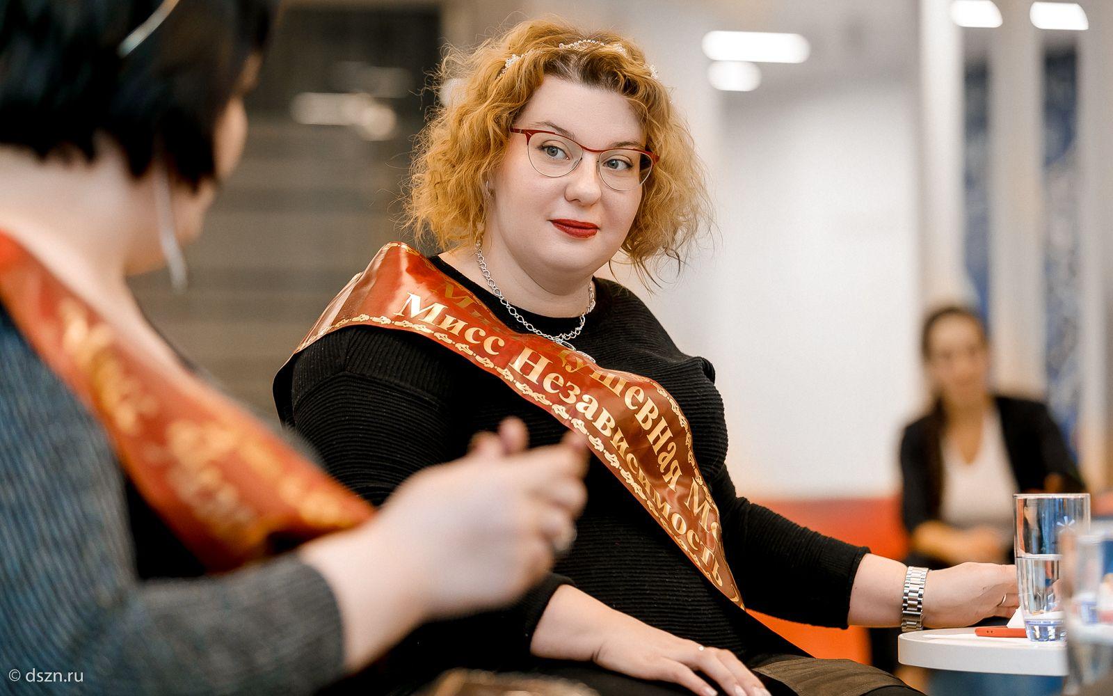 Елена Михалева, участница конкурса «Мисс Независимость»